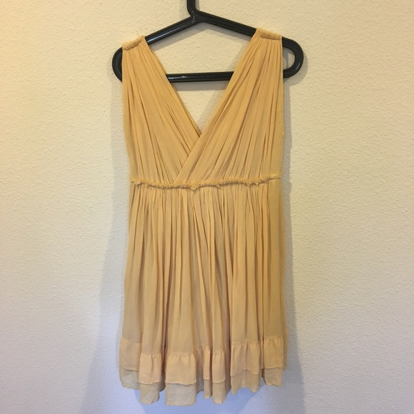 Mes Demoiselles Dresses & Skirts - Mes Demoiselles Paris yellow mini dress
